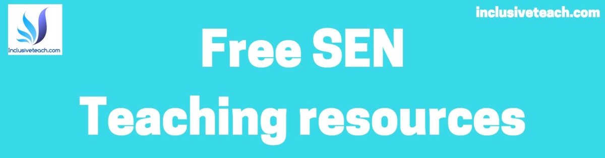 Free Printable SEN Teaching Resources