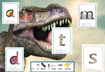 Phonics dinosaur worksheet Letter Sounds
