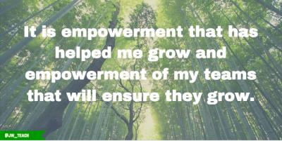 leadership quote empower teams