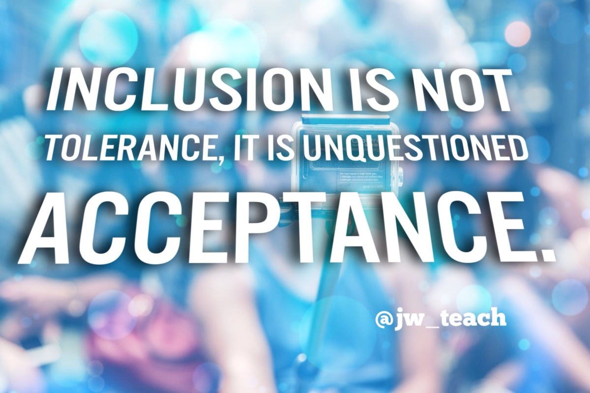 inclusion in education Inclusion: why it does not suit the educational needs for all by: team d kristen purich dee ross alyson severino david zwirz.