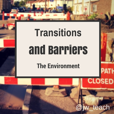 Transitions and Barriers
