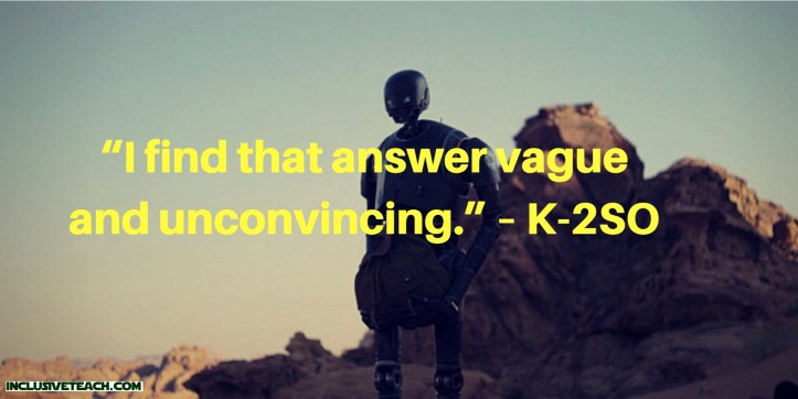 Star Wars Quotes For Every Teacher Special Needs Teaching And