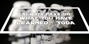 Star wars quote yoda