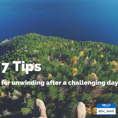tips for unwinding after a challenging day