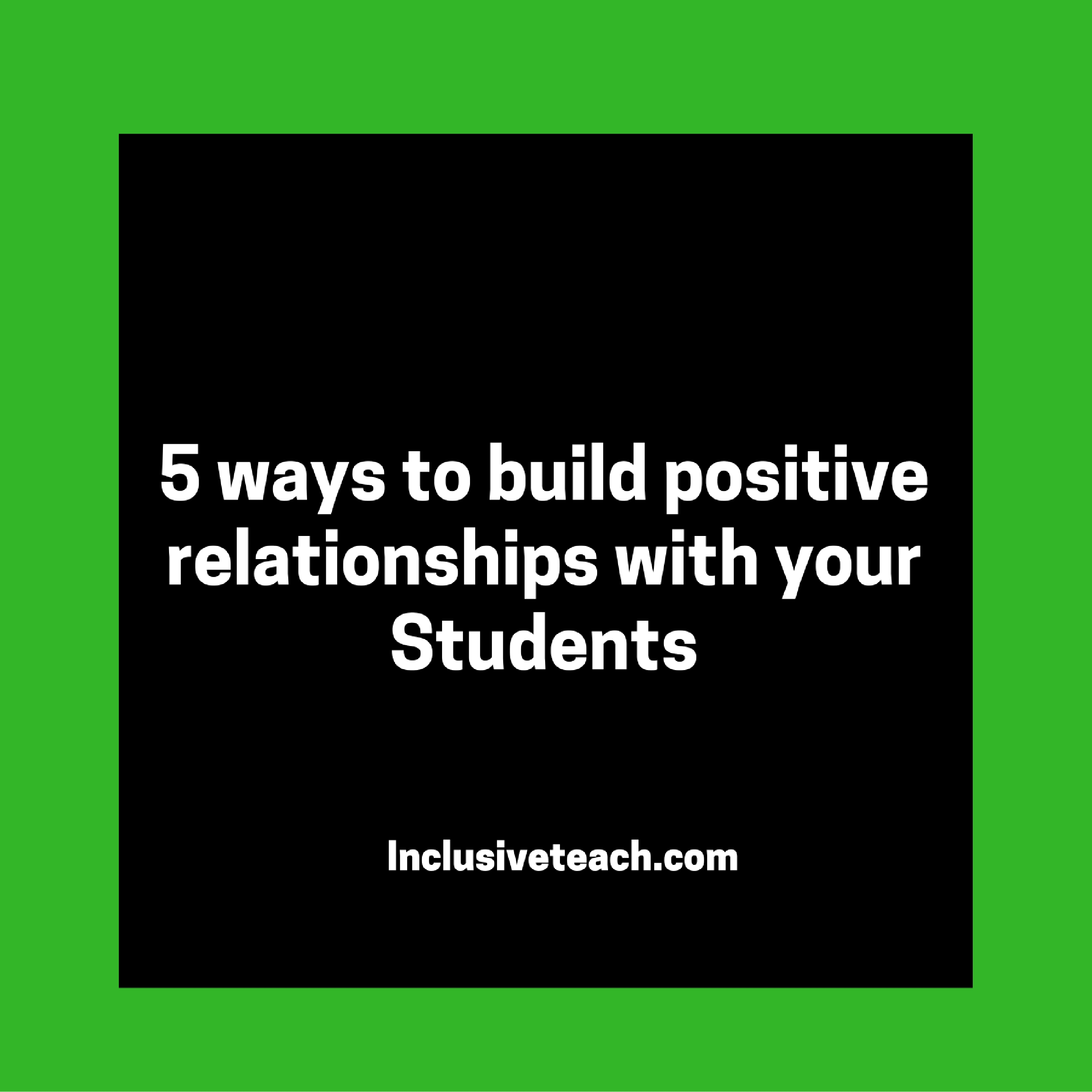 10 Ways to Build Positive Work Relationships and Work as a Team