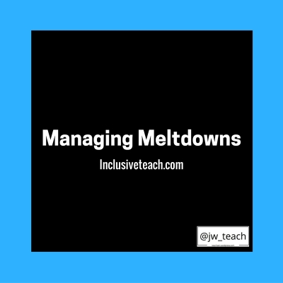 Managing Meltdowns Autism