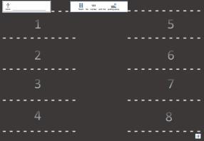 number-parking-worksheet