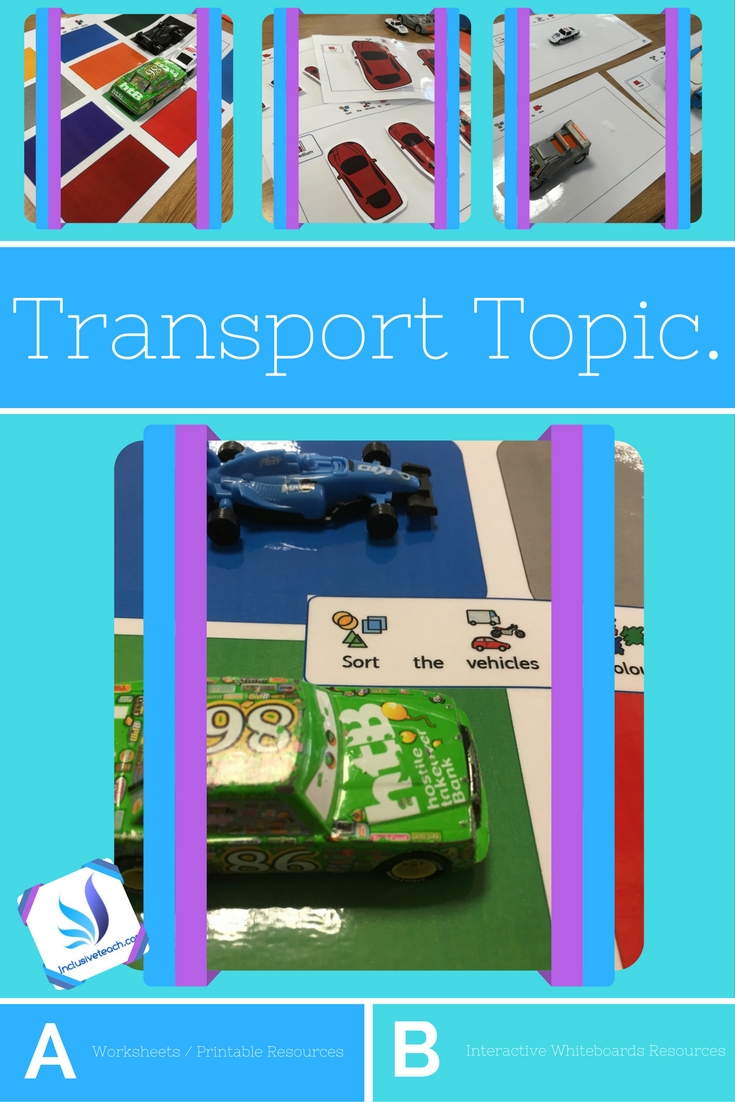 SEN Teacher: Transport Topic 1 – Special Needs Teaching and Education