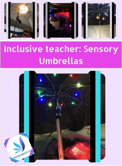 Inclusive Teacher Sensory Umbrellas