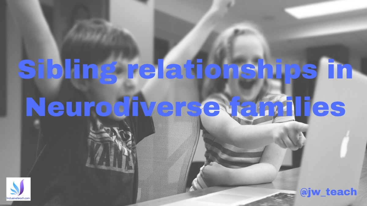 Sibling relationships in Neurodiverse families