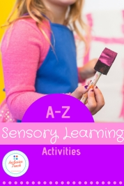 Sensory learning resources for special education